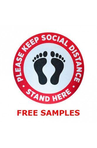Floor sticker SRA3 sample pack
