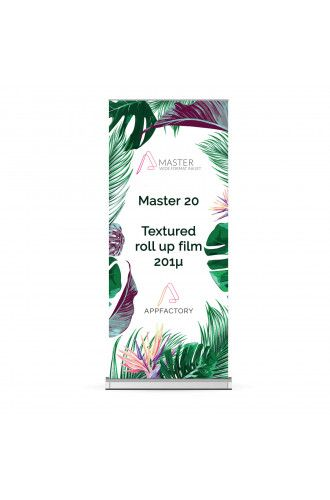 Master 20 Textured Roll-Up - 201µ
